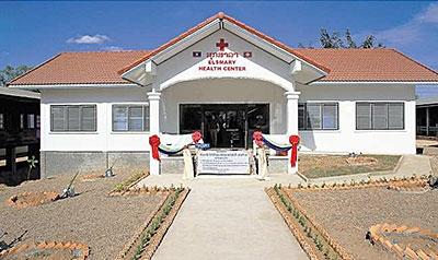 Eingeweiht: In Laos finanzierte der Verein Bildung, Gesundheit, Sport, welcher vom Brunner Anwalt Alois Kessler präsidiert wird, zusammen mit dem Rotary Club Schwyz-Mythen eine Krankenstation.