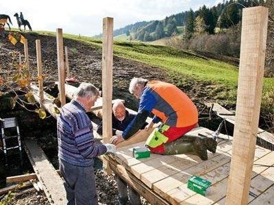 Gemeindienstprojekt 2011/12 im Rothenthurmer Hochmoor
